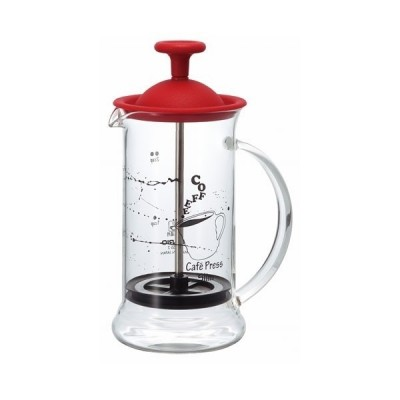 Hario French Press červený 240 ml
